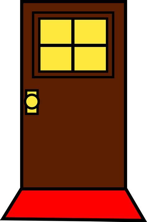 Clipart door back door. Clip art hawthorneatconcord