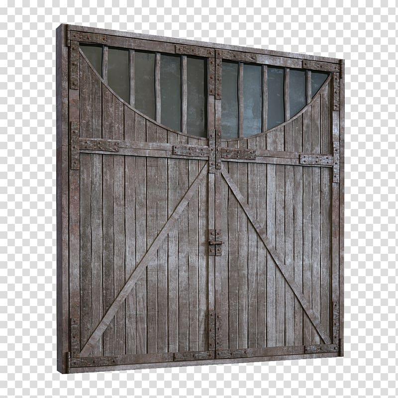 Window wood wall old. Door clipart big door