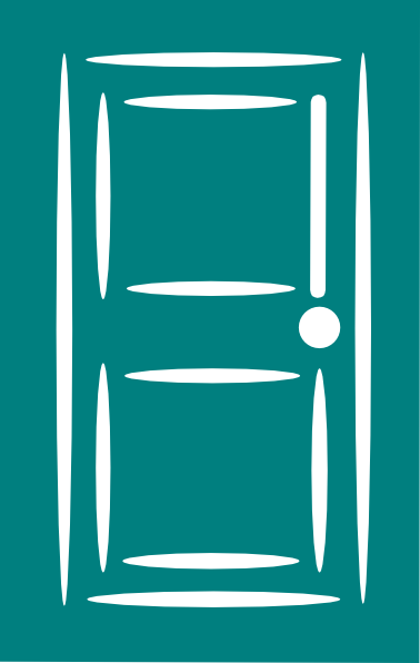 Door clipart blue door. Clip art at clker