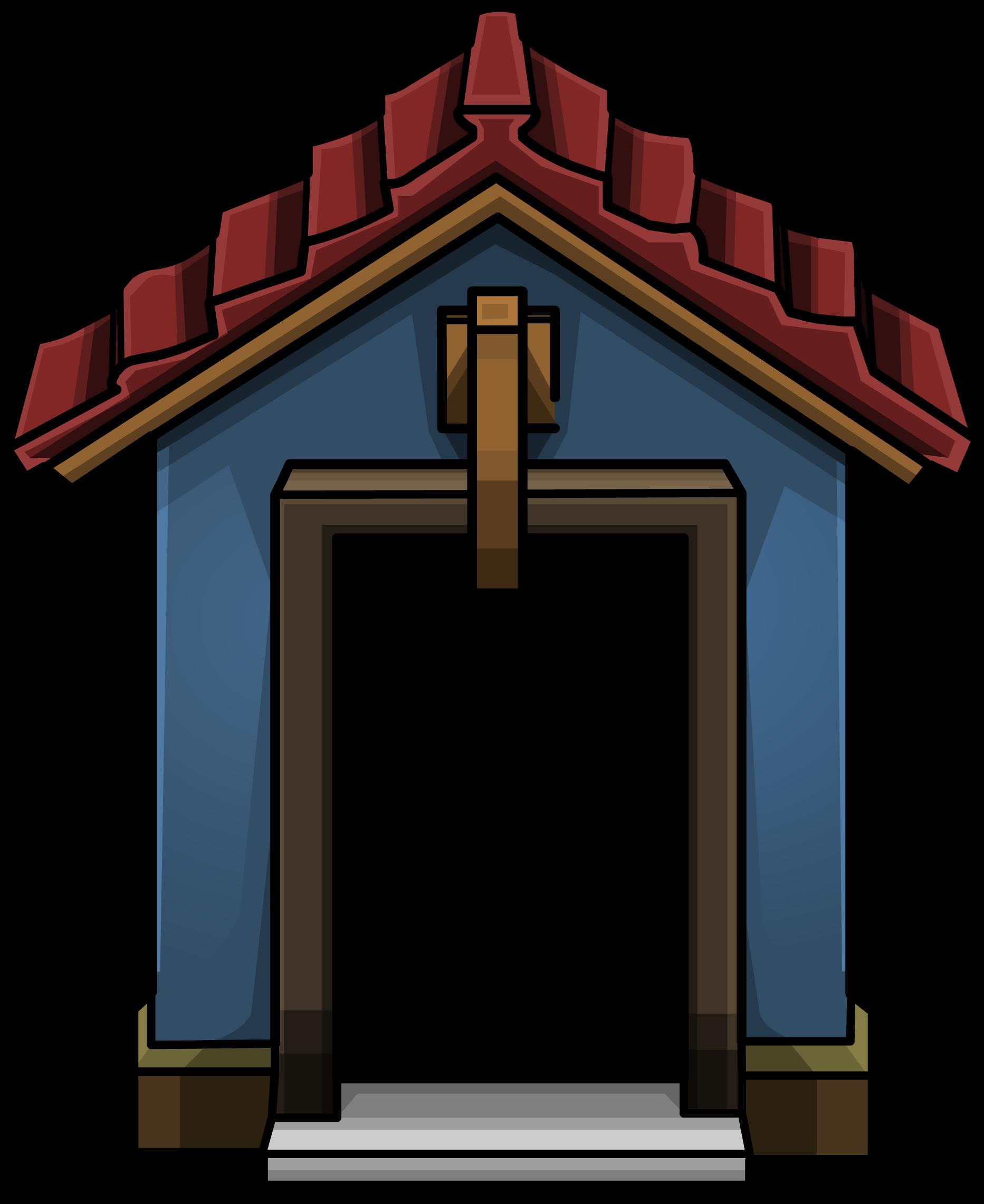 Image cozy sprite png. Door clipart blue door