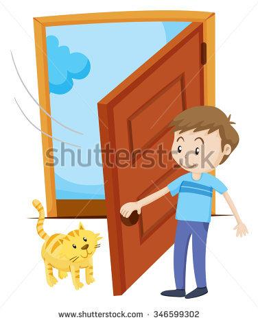 Door clipart opening door. Free download best