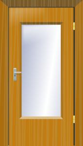 Clipart door class door. Office glass clip art