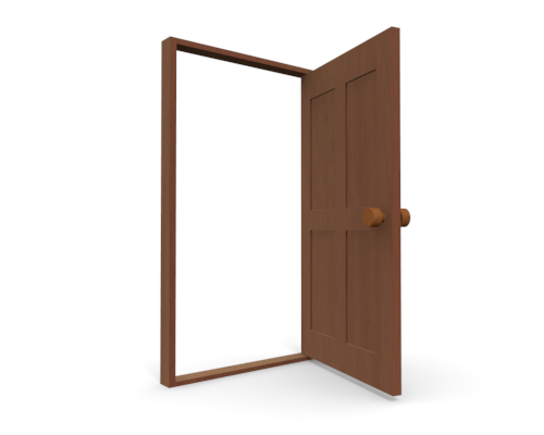 Clipart door closet door. Open clip art