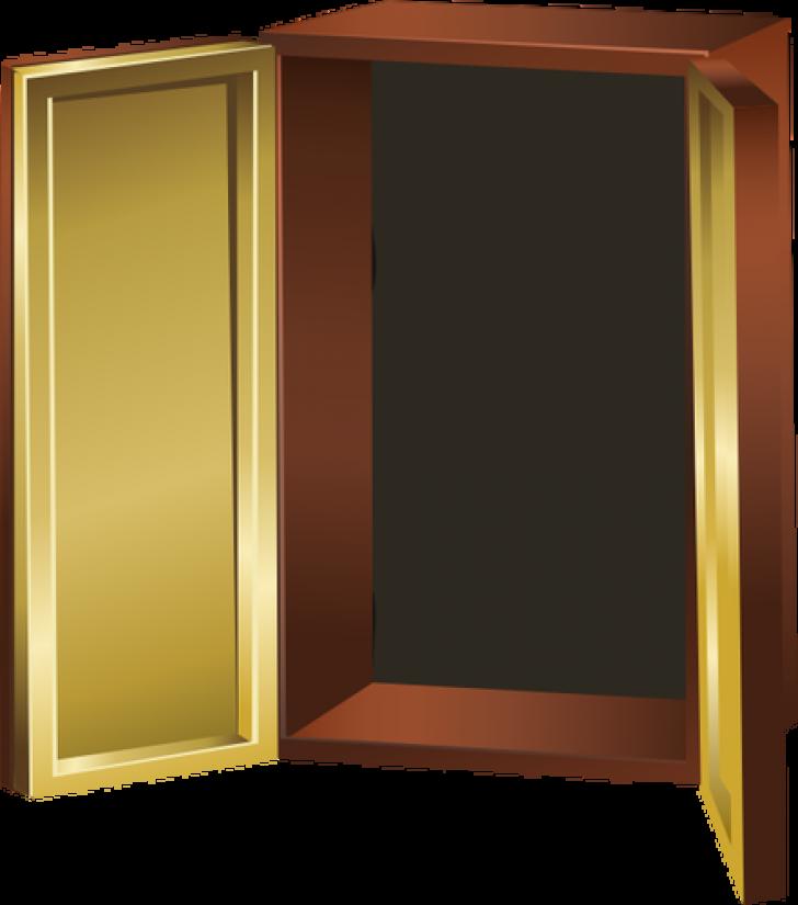 Simple open church decorating. Clipart door colorful door