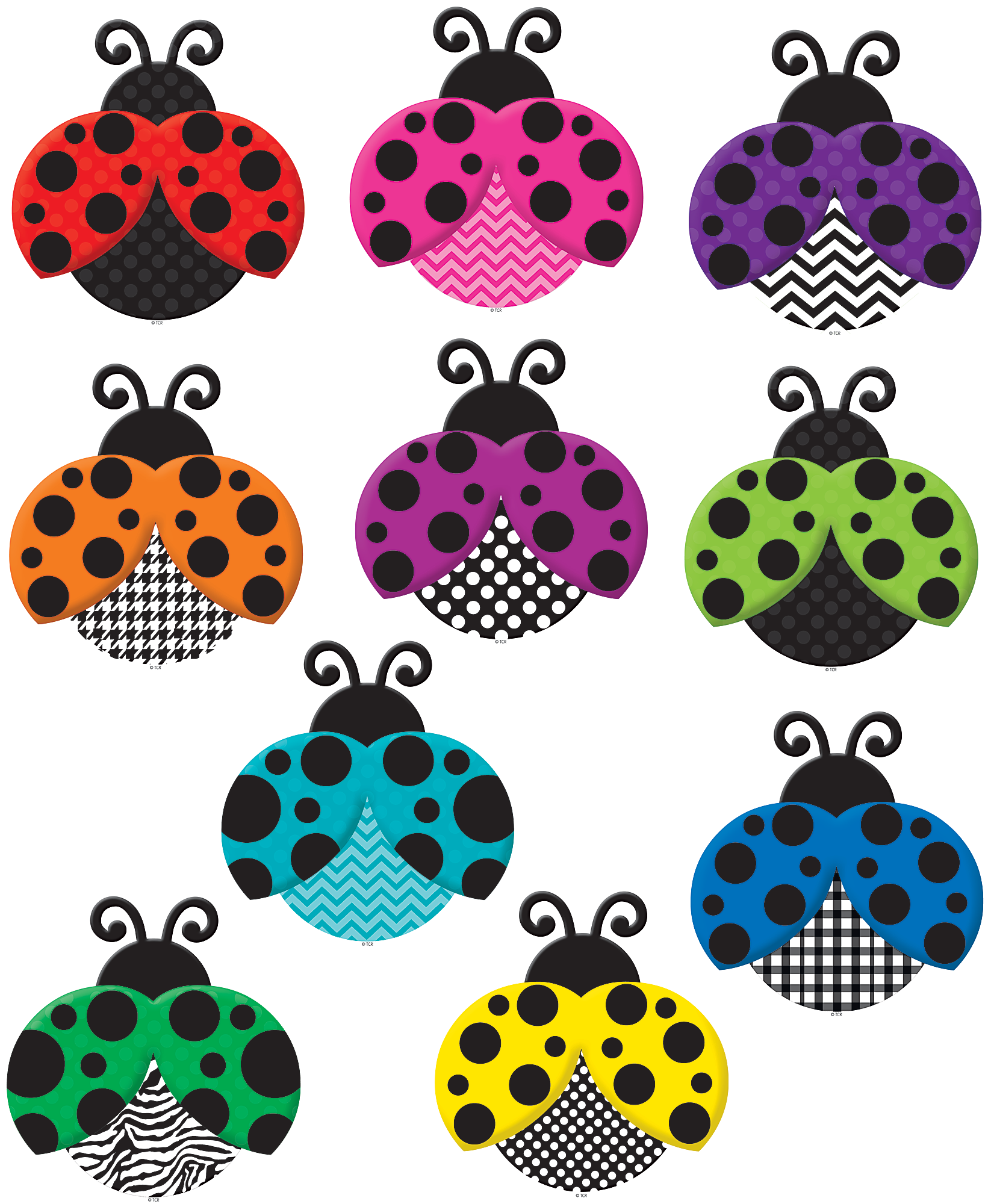 Clipart door colorful door. Ladybugs accents ladybug and