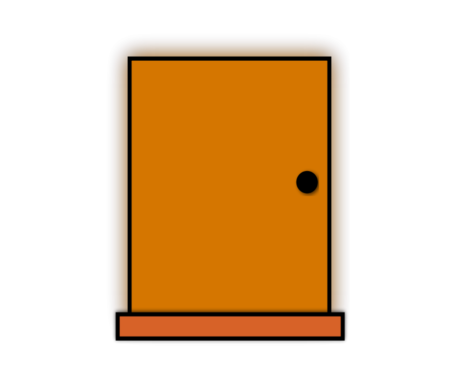 Image of Closed Door Clipart