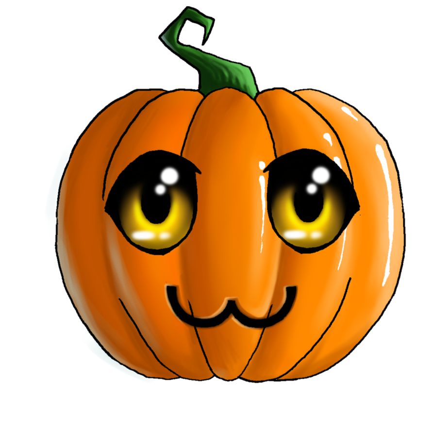 Pumpkin clipart curly. Cute halloween clip art