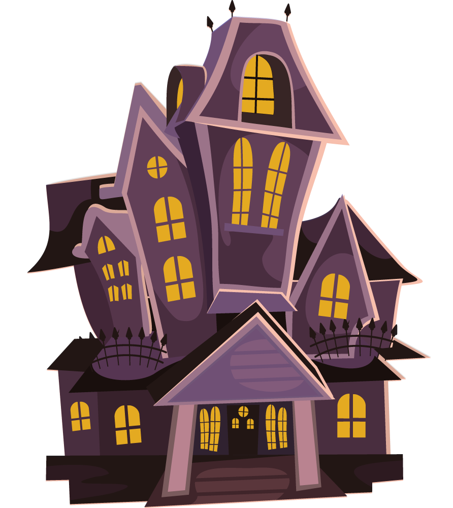 Creepy house png.  collection of scary