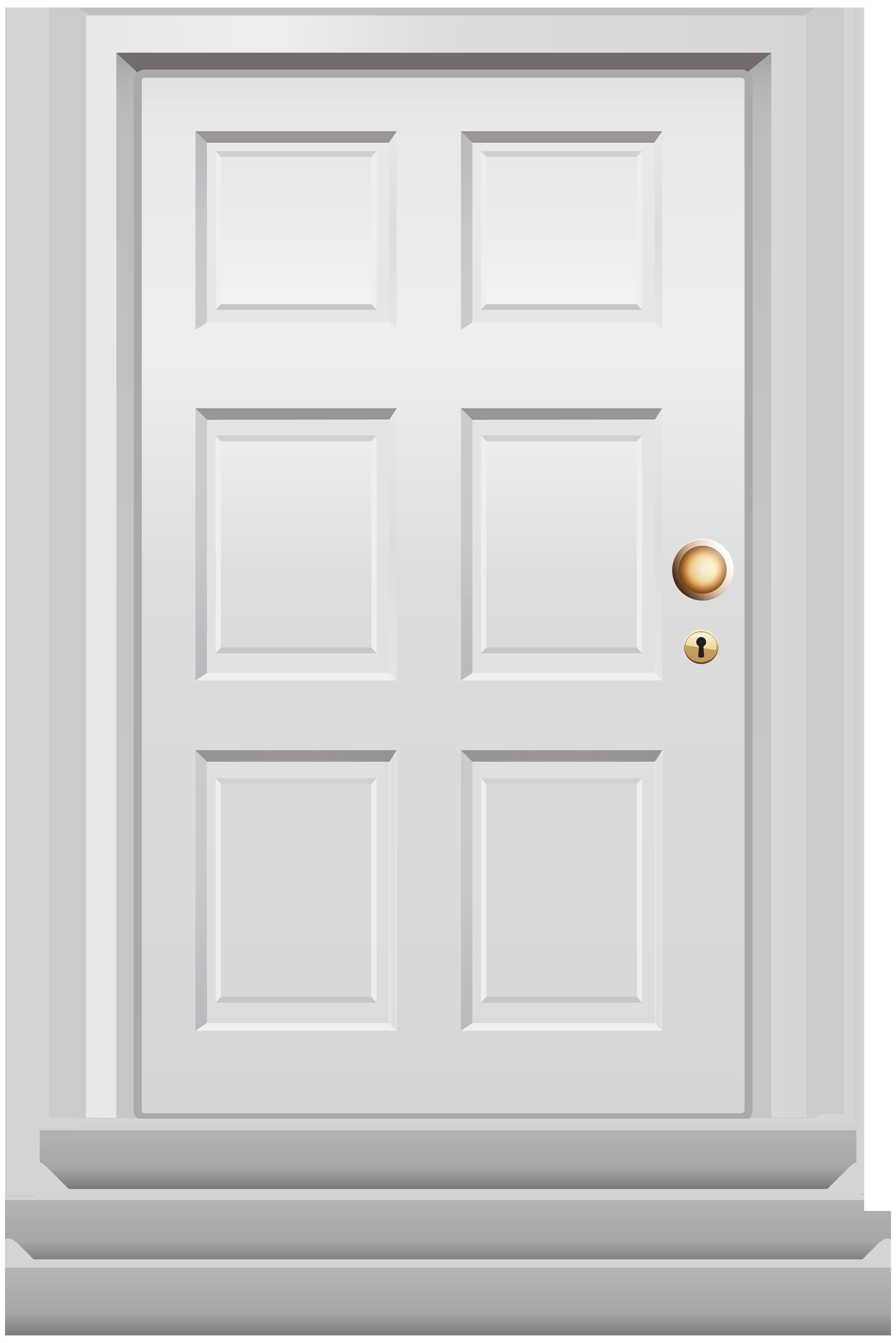 Front white png clip. Clipart door dooor
