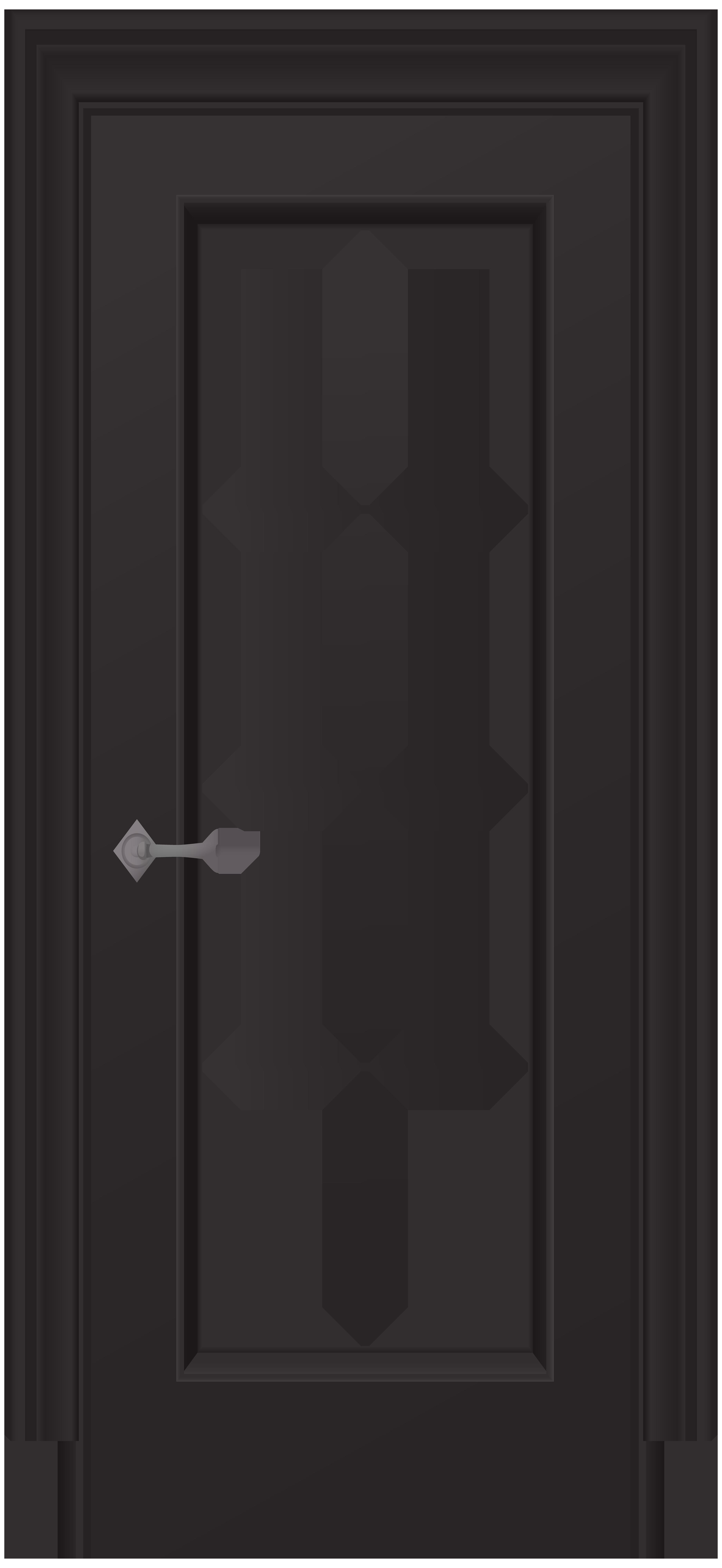 Door clipart black and white. Png clip art best
