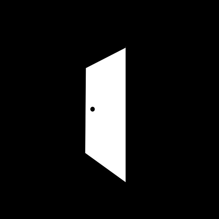 Door clipart doorway. Free image on pixabay