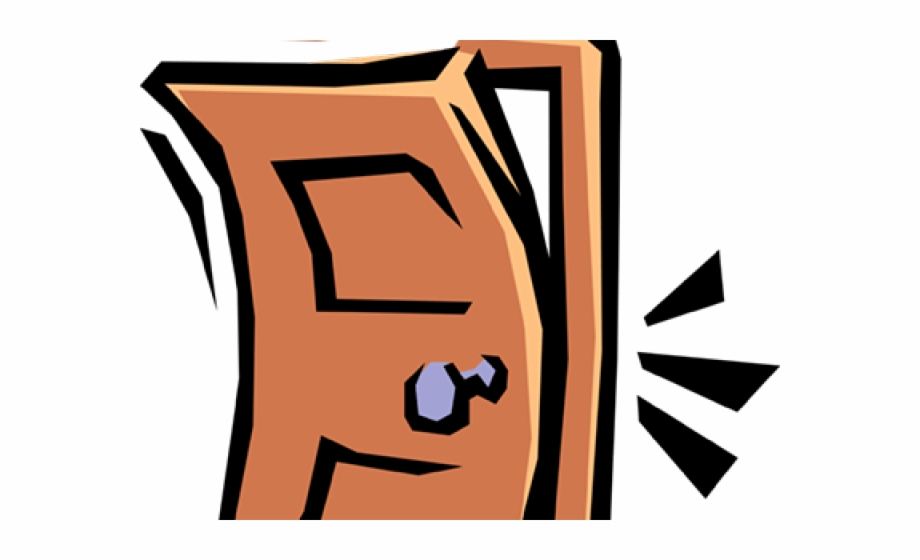 Cliparts slamming clip art. Door clipart closed door
