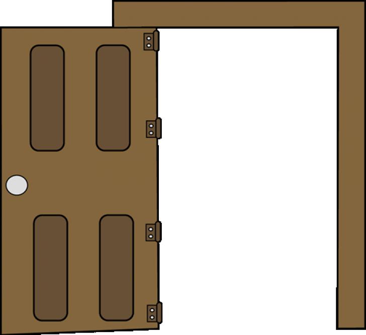 open door clipart custom