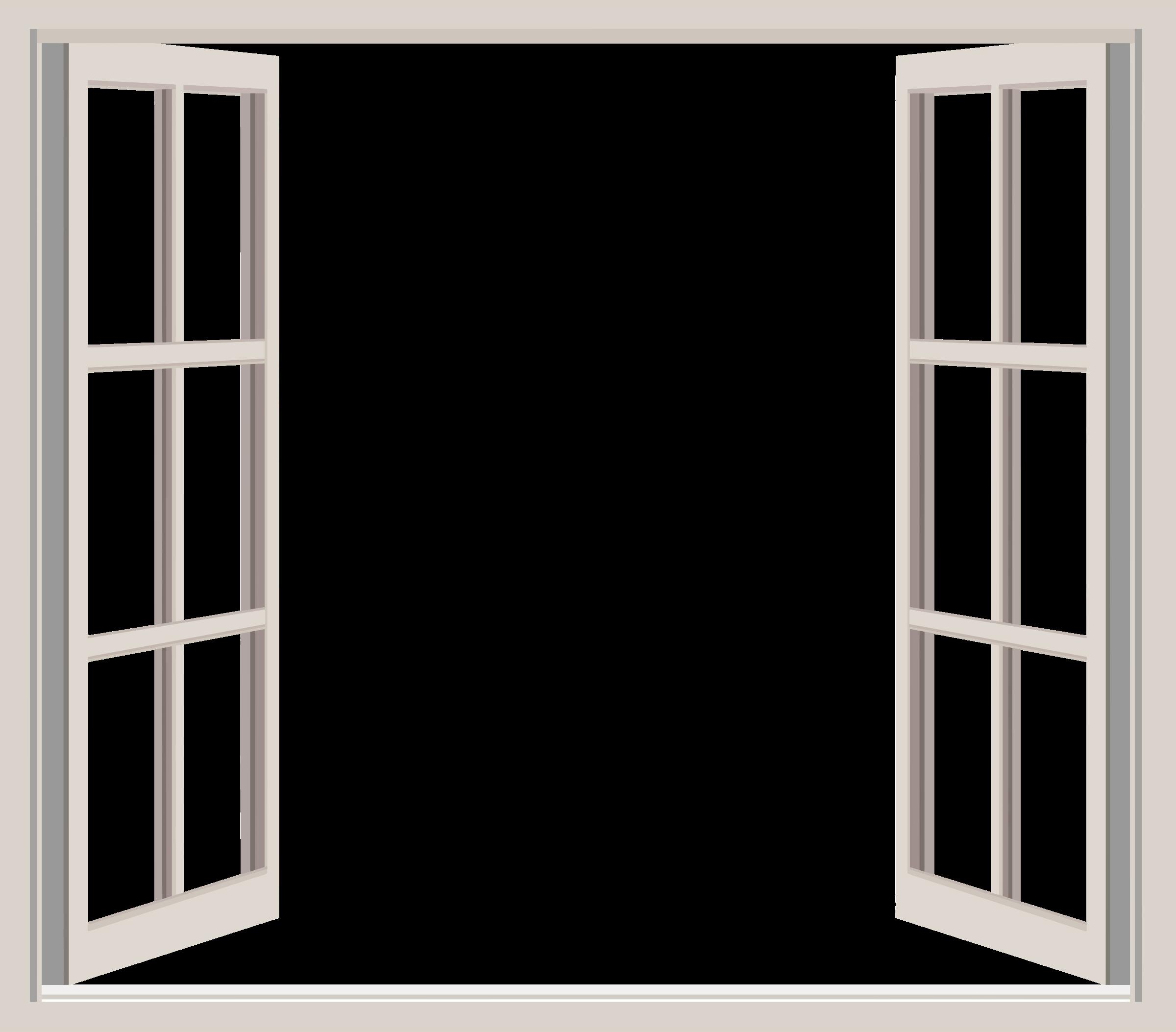 Furniture clipart window door. Clever open glass pencil