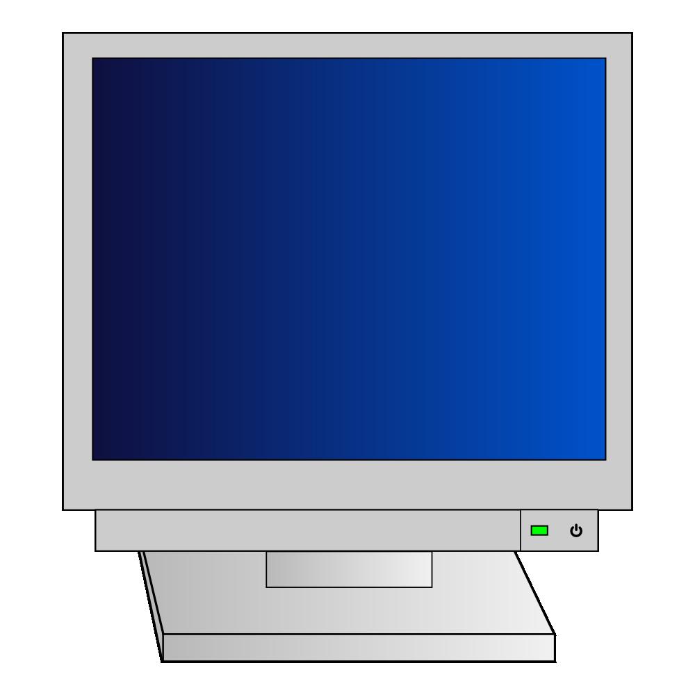 Clipart door door monitor. Onlinelabels clip art crt
