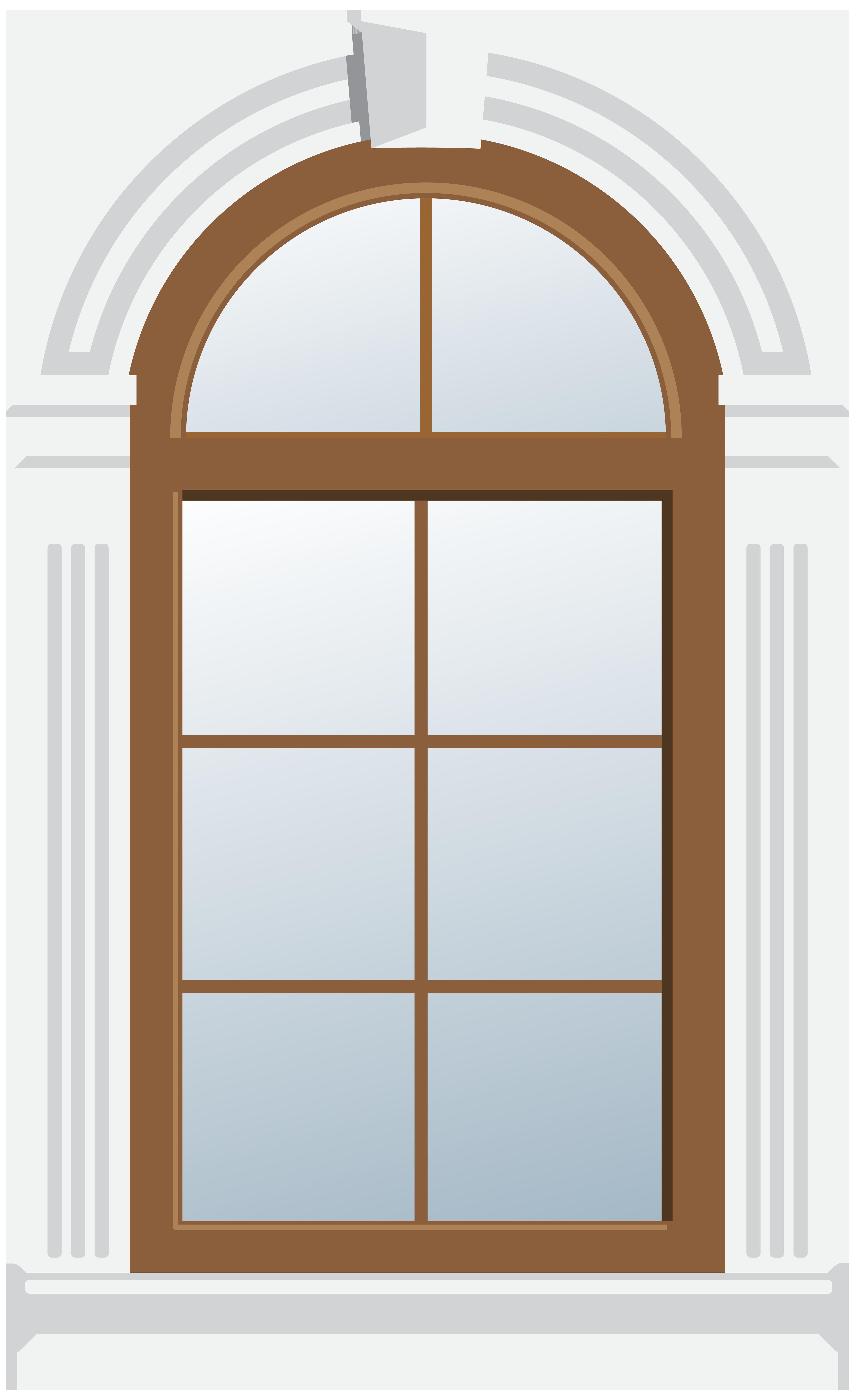 Clipart door door window. Arch png clip art