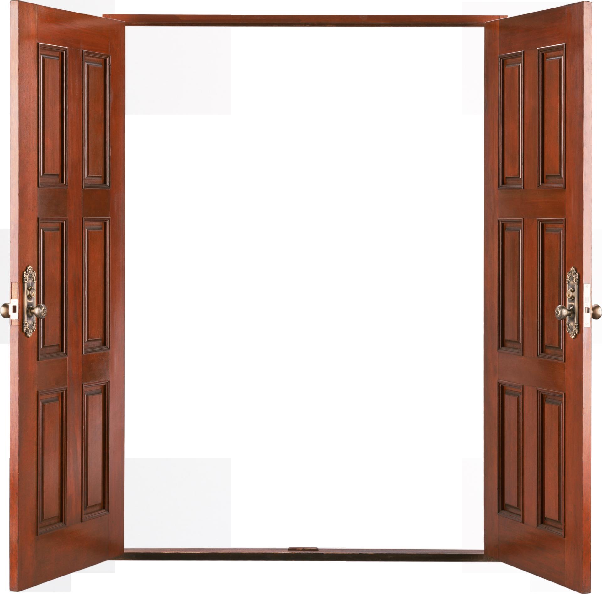 Door clipart dor. Png images wood open