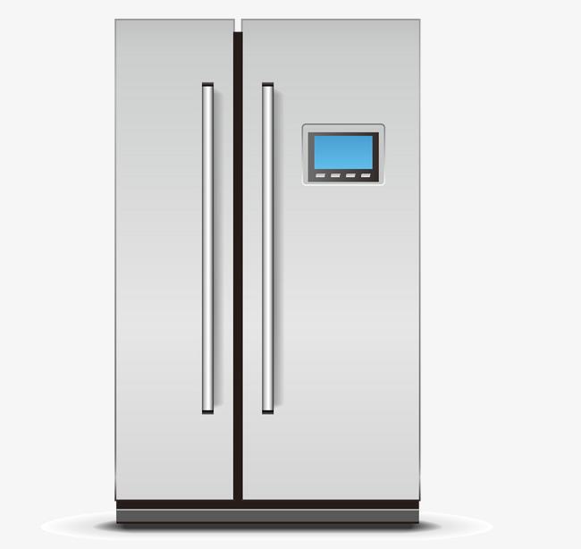 Door clipart 2 door. Two refrigerator png mart