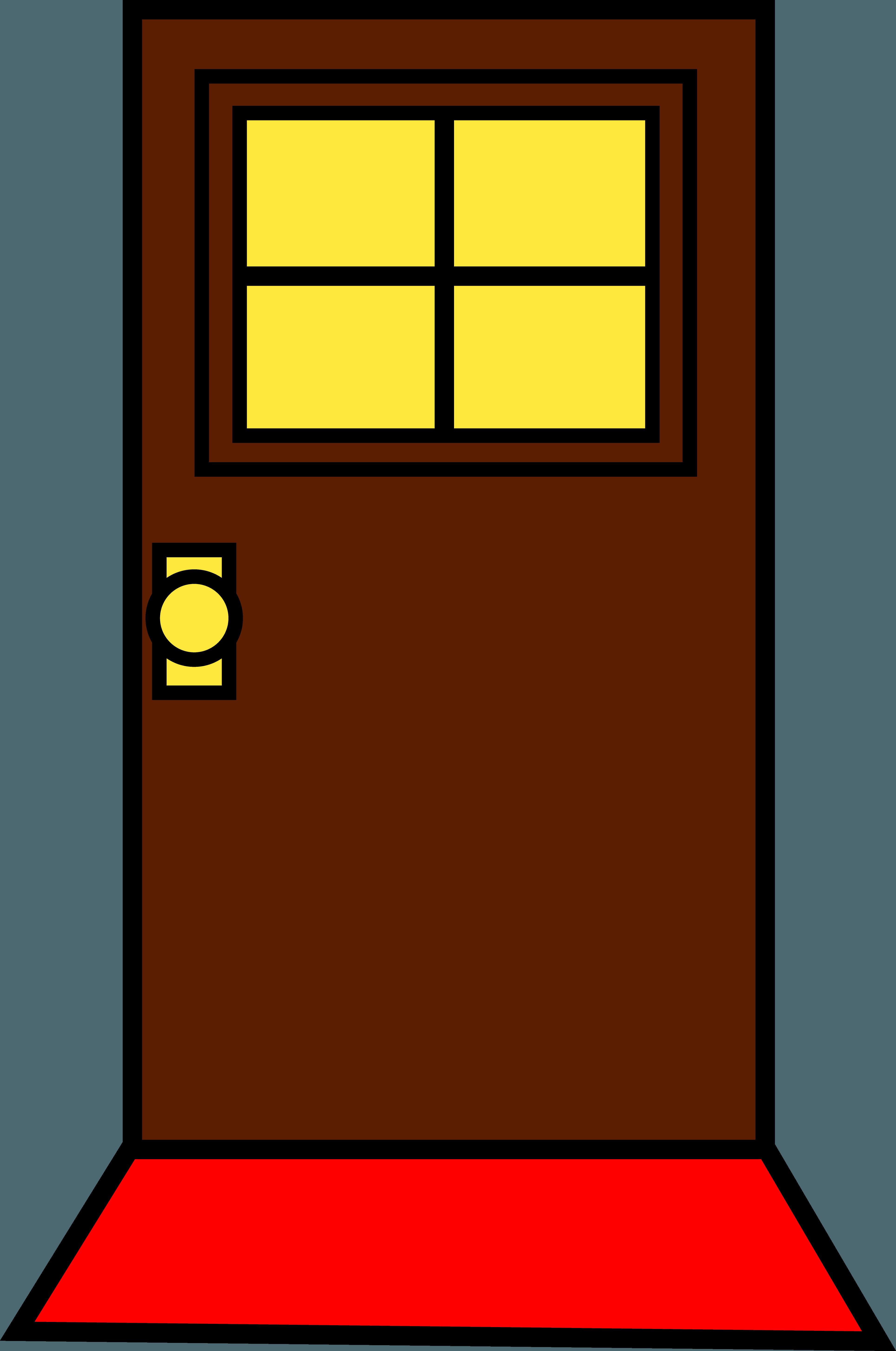 Door clipart doorway. Front image group open