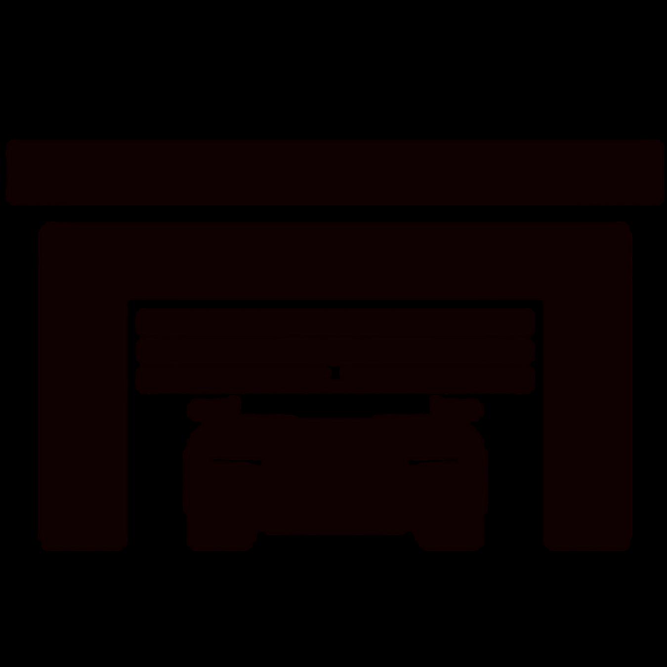 Garage icon concept . Clipart door futuristic