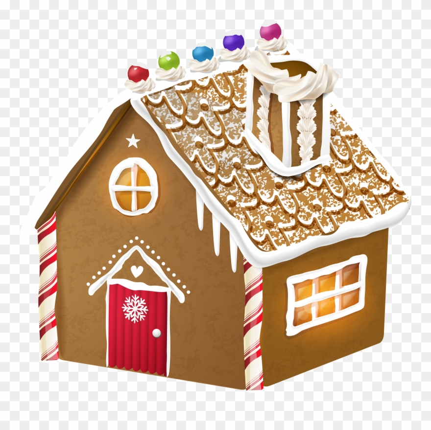 House graphic royalty free. Gingerbread clipart door