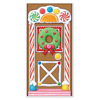 House cover . Gingerbread clipart door