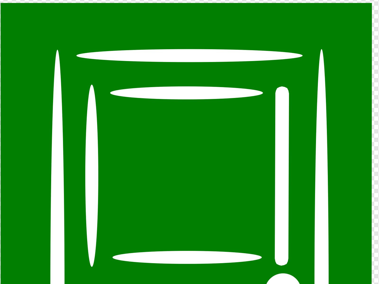 Clip art icon and. Clipart door green door