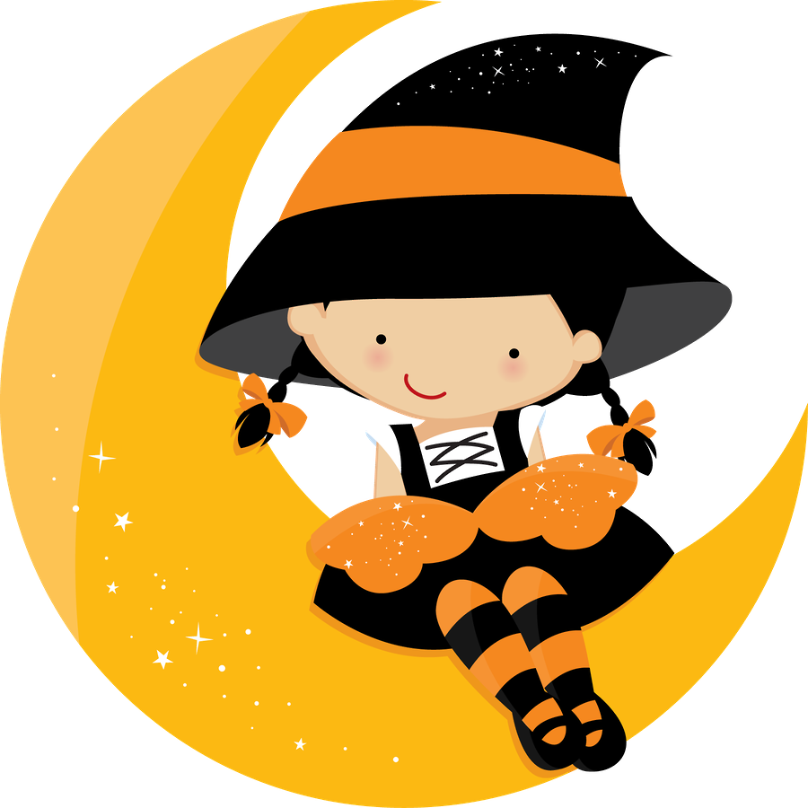 Bruxinha kalip pinterest clip. Clipart halloween door