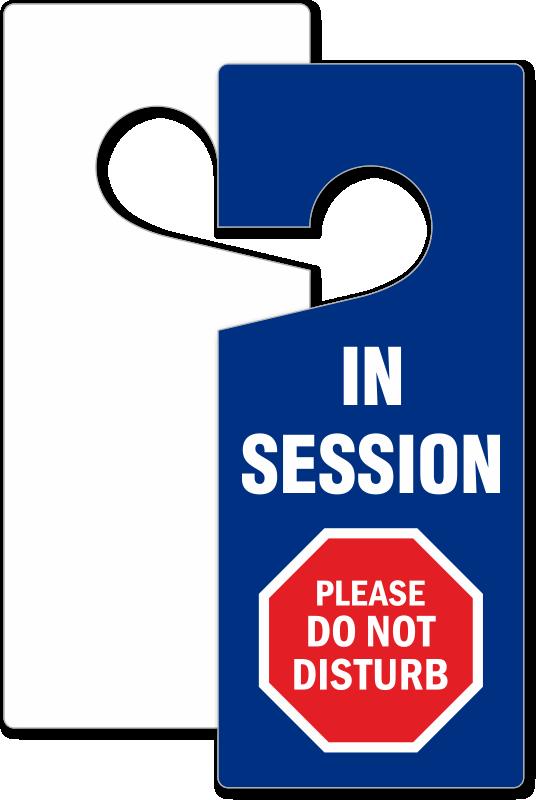 Do not disturb hangers. Clipart door hospital door