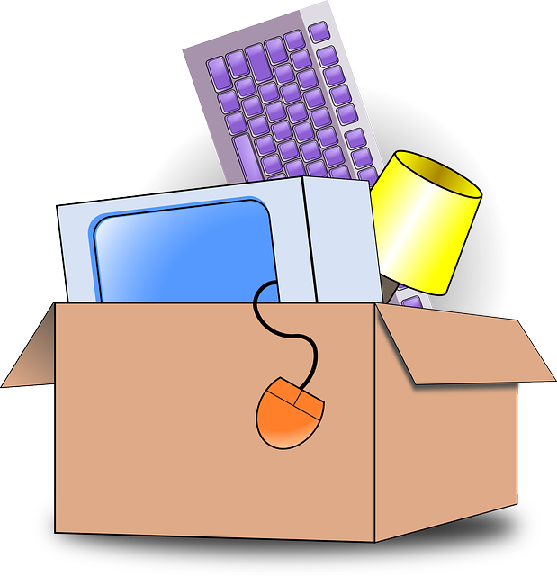 moving clipart office