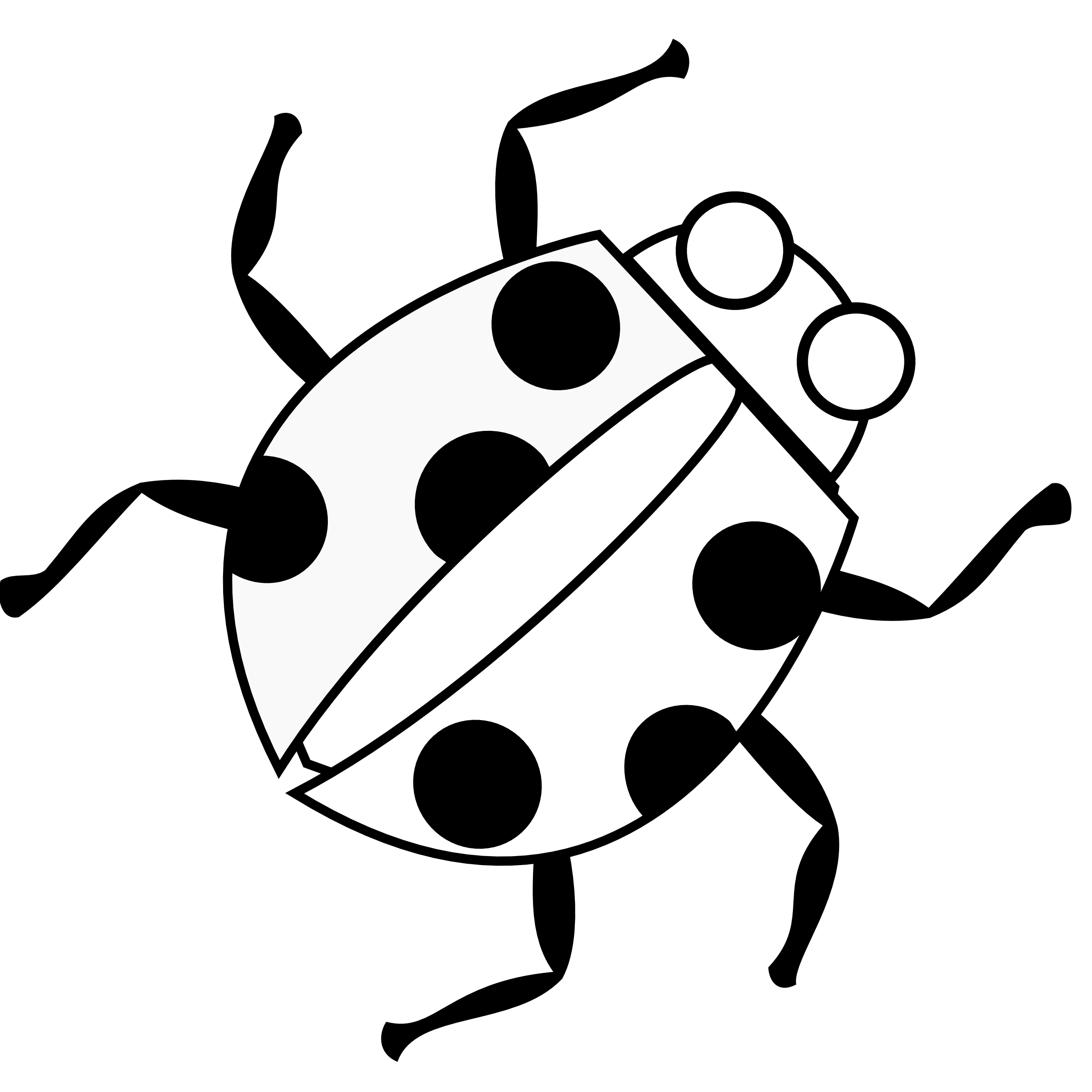 Zip line drawing at. Ladybug clipart sketch