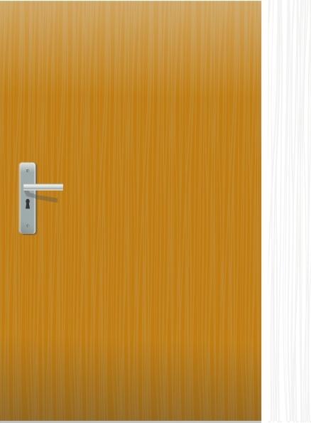 Clip art free vector. Clipart door office door