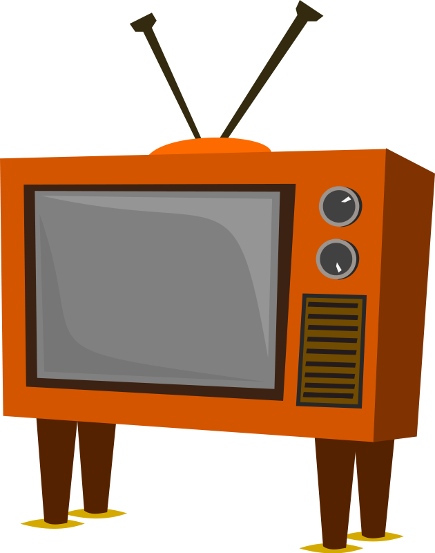 collection of old. Television clipart tele