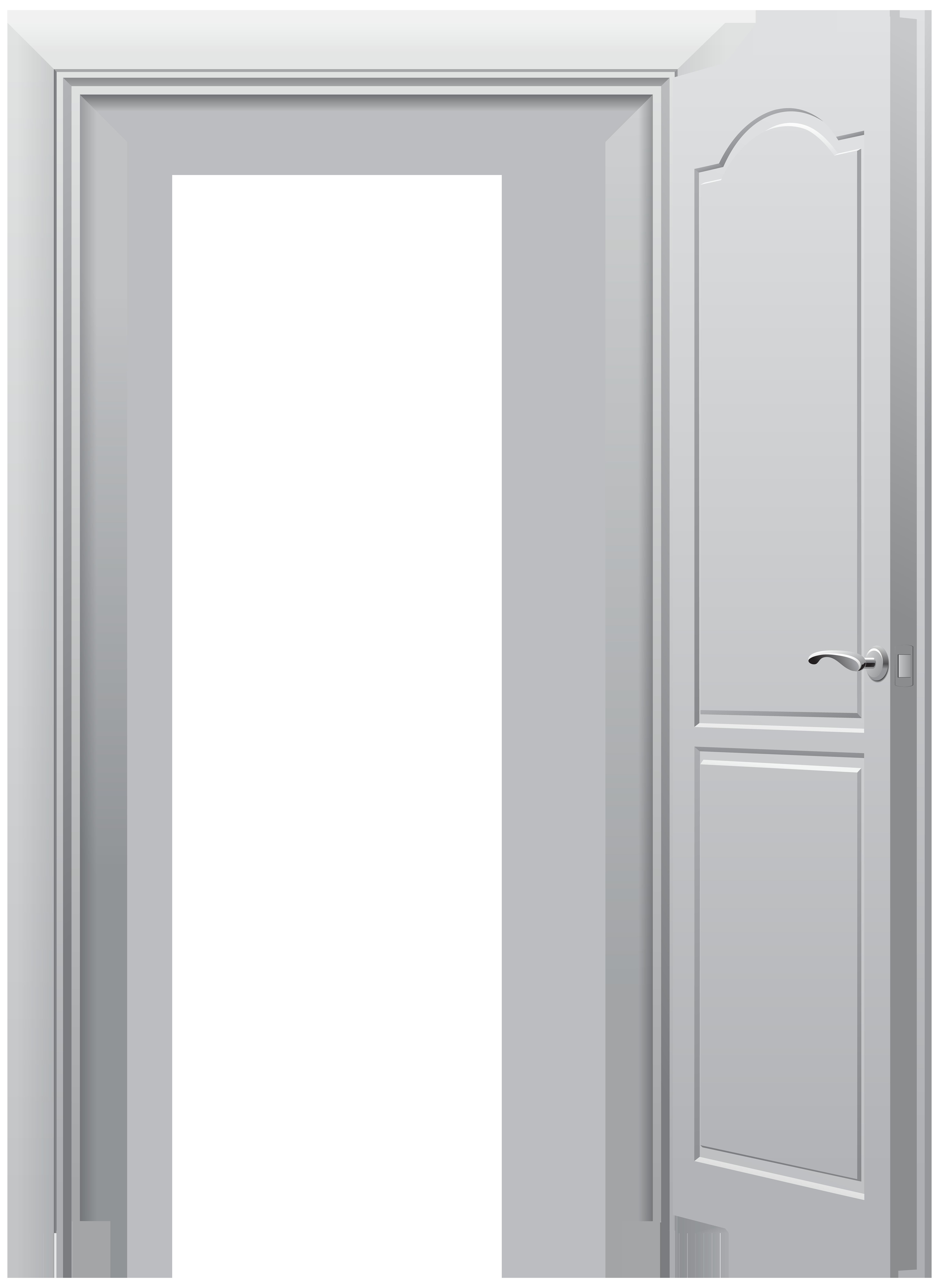 Door clipart doorway. Open png clip art
