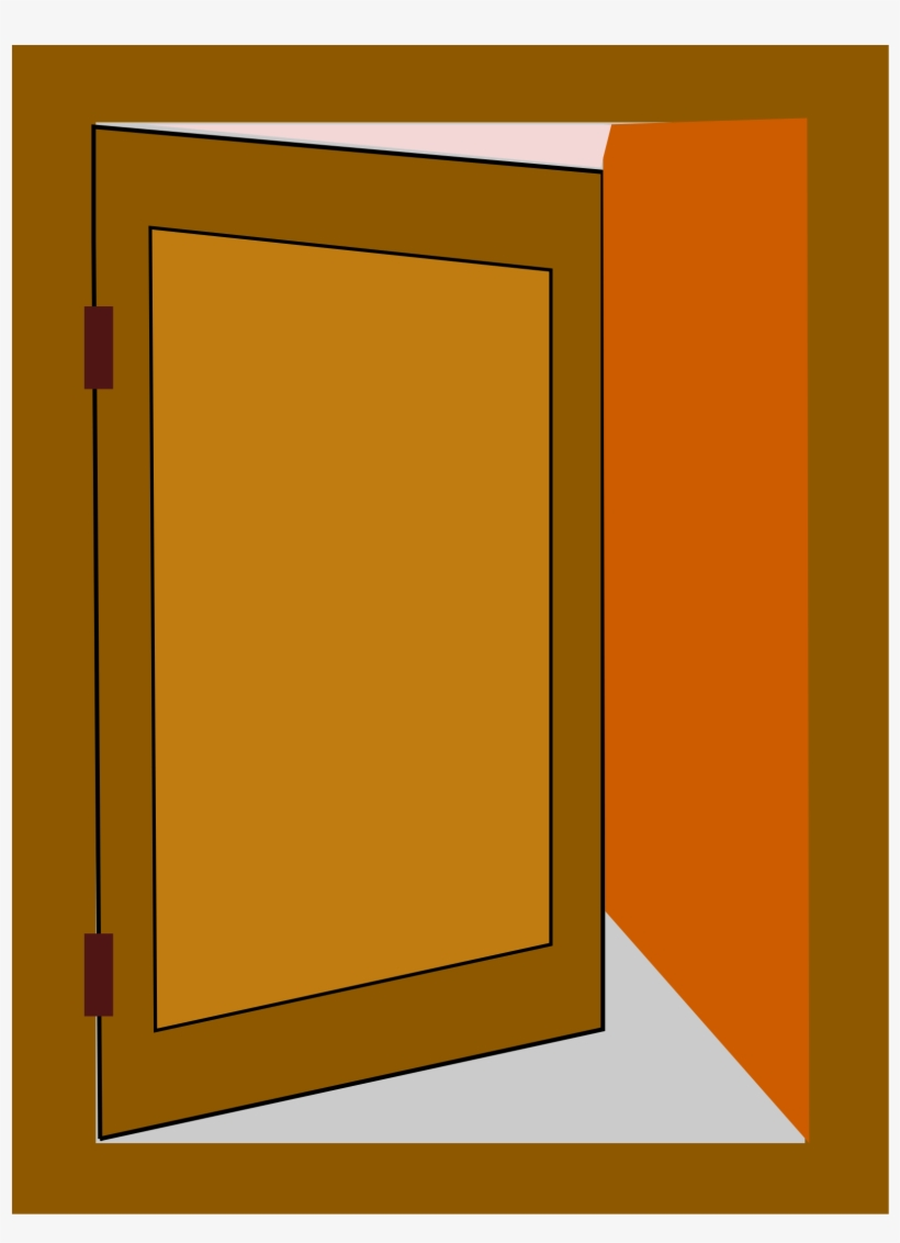Clipart door opened door.  collection of open