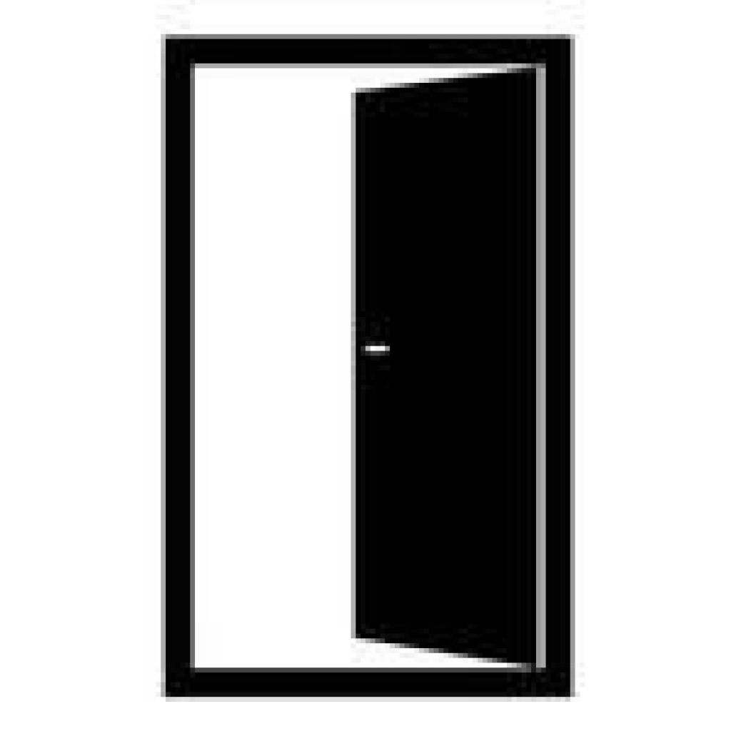 Clipart door opened door. Free open black and