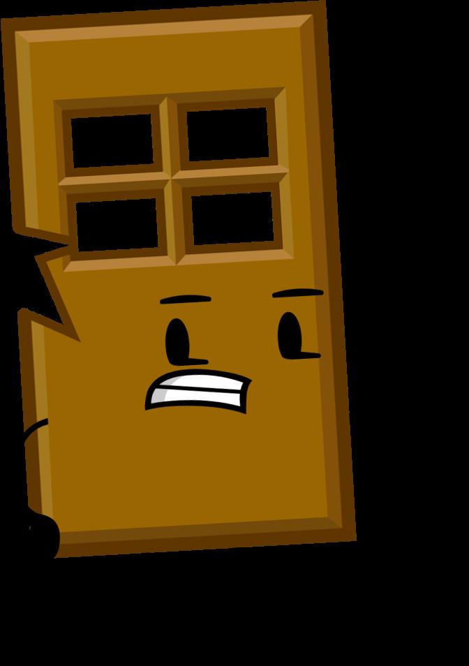 Object shows community fandom. Clipart door orange door