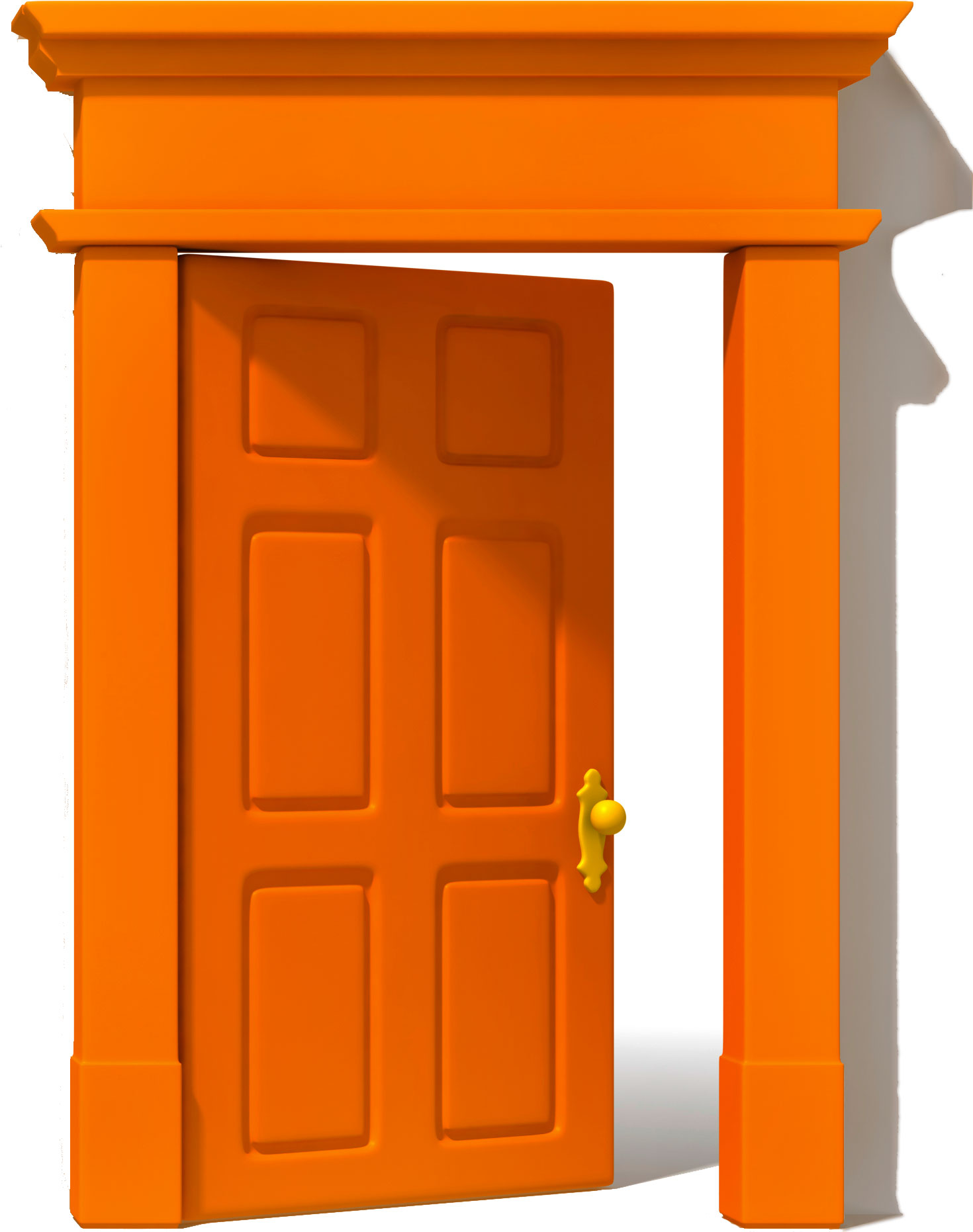 Door clipart orange door. Osu alumni association life