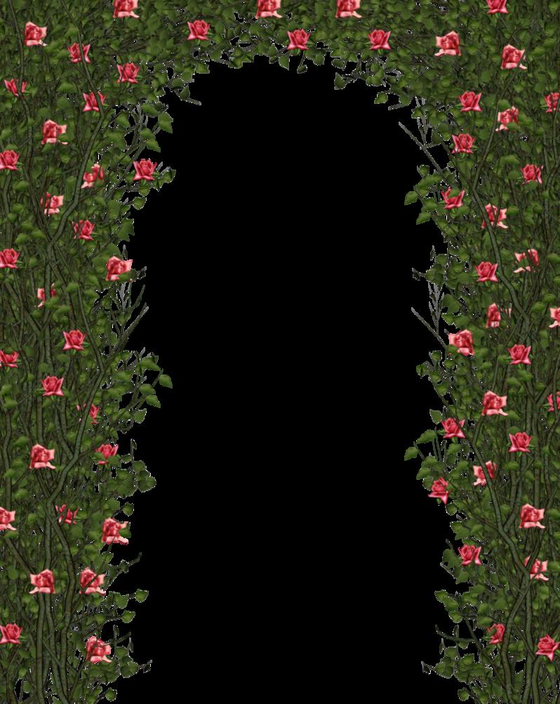 Clipart door pink door. Flower garden roses clip