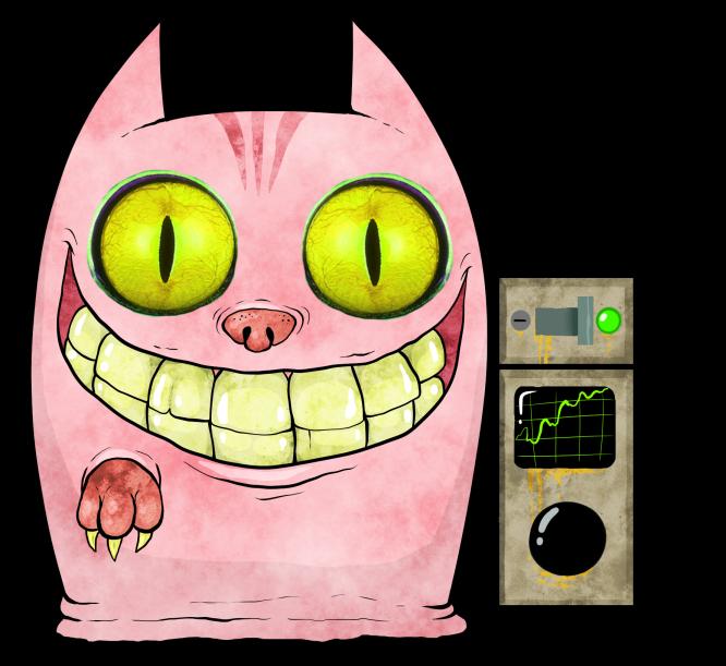 Kitty noisy tenant wiki. Clipart door pink door