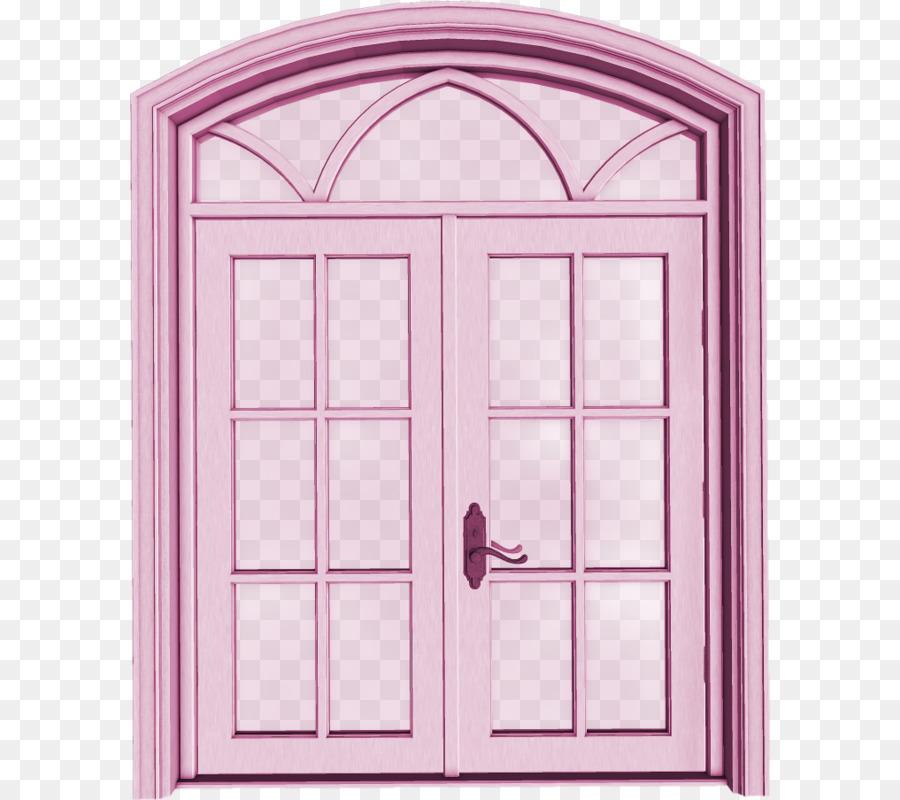 Window cartoon png download. Clipart door pink door