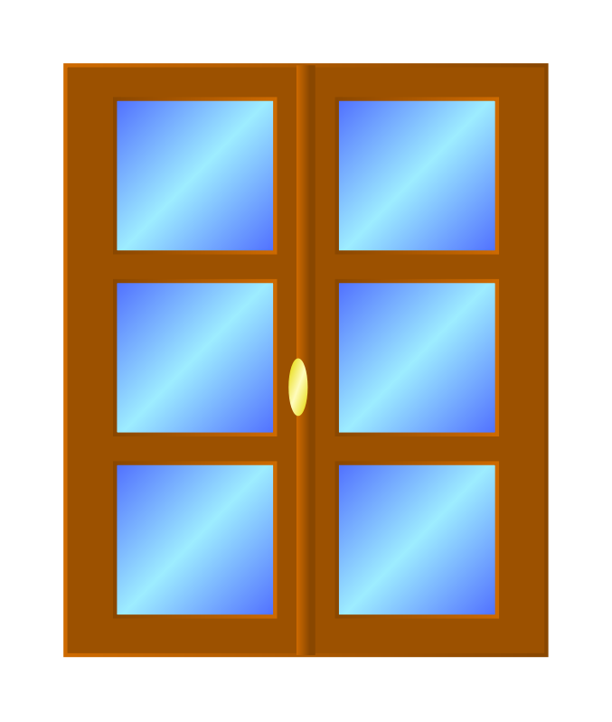 collection of door. Win clipart window scene