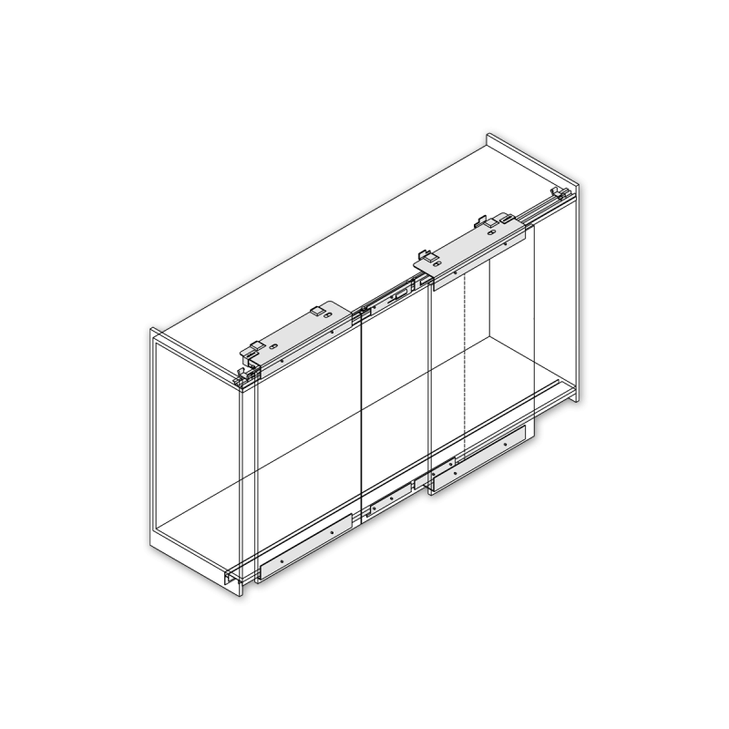 Door clipart puerta. Fittings for sliding coplanar