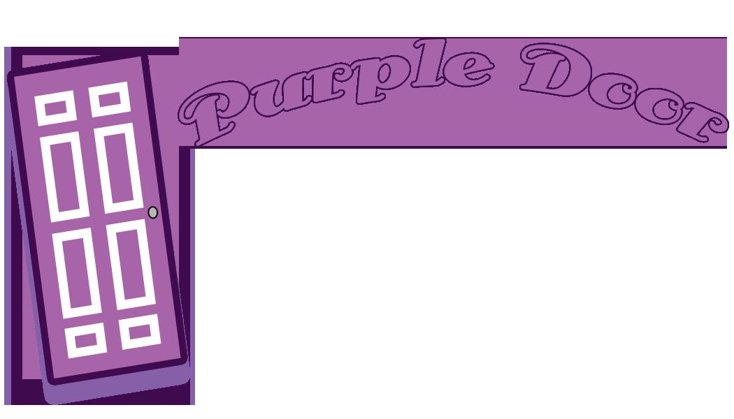 Arizona community theatre is. Door clipart purple door