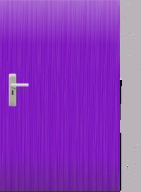 Panda free images . Door clipart purple door