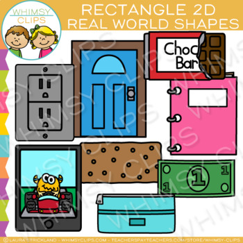 Clipart door rectangle object. Real life objects d