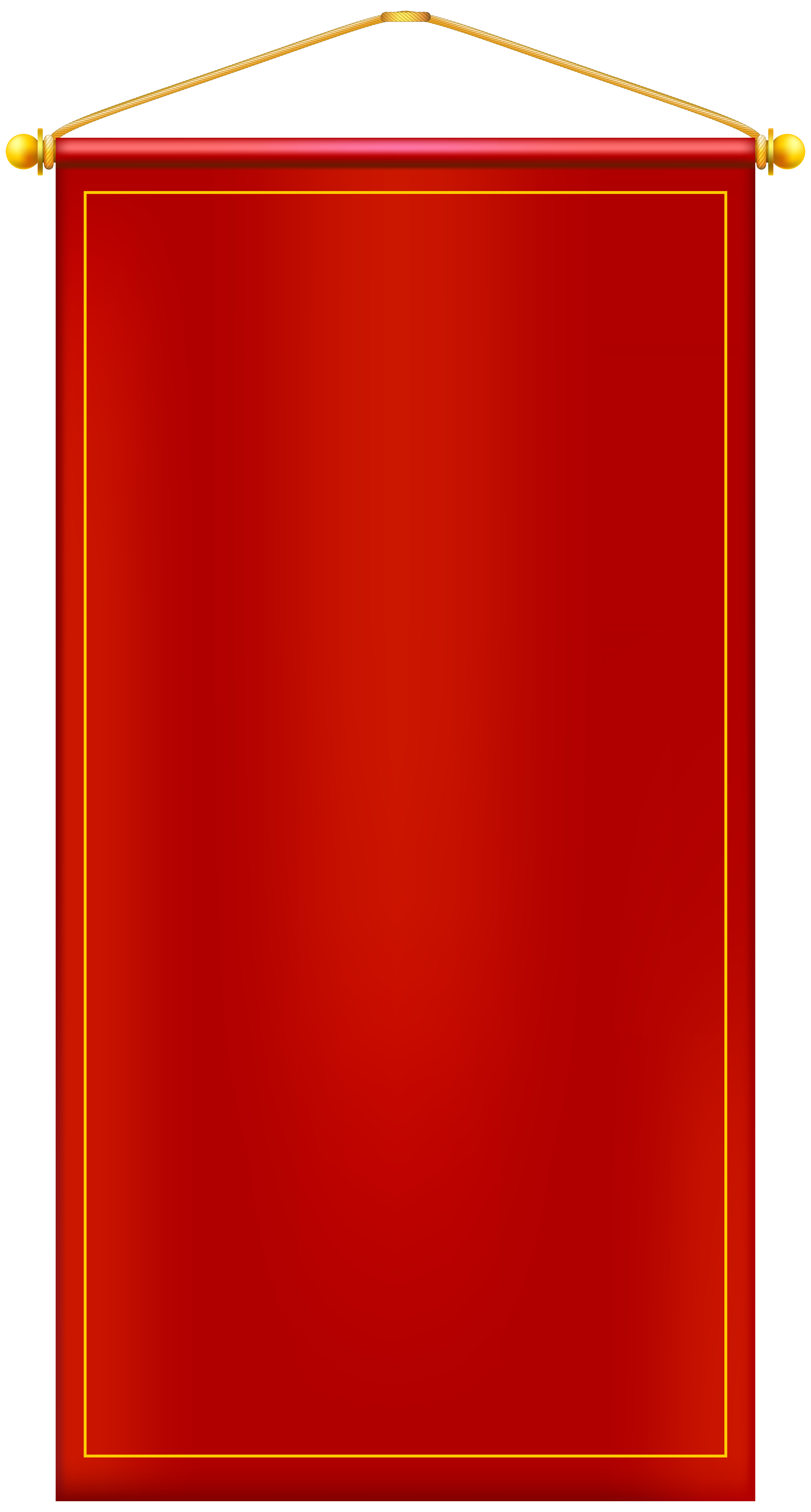 Clipart door rectangle thing. Vertical red banner png