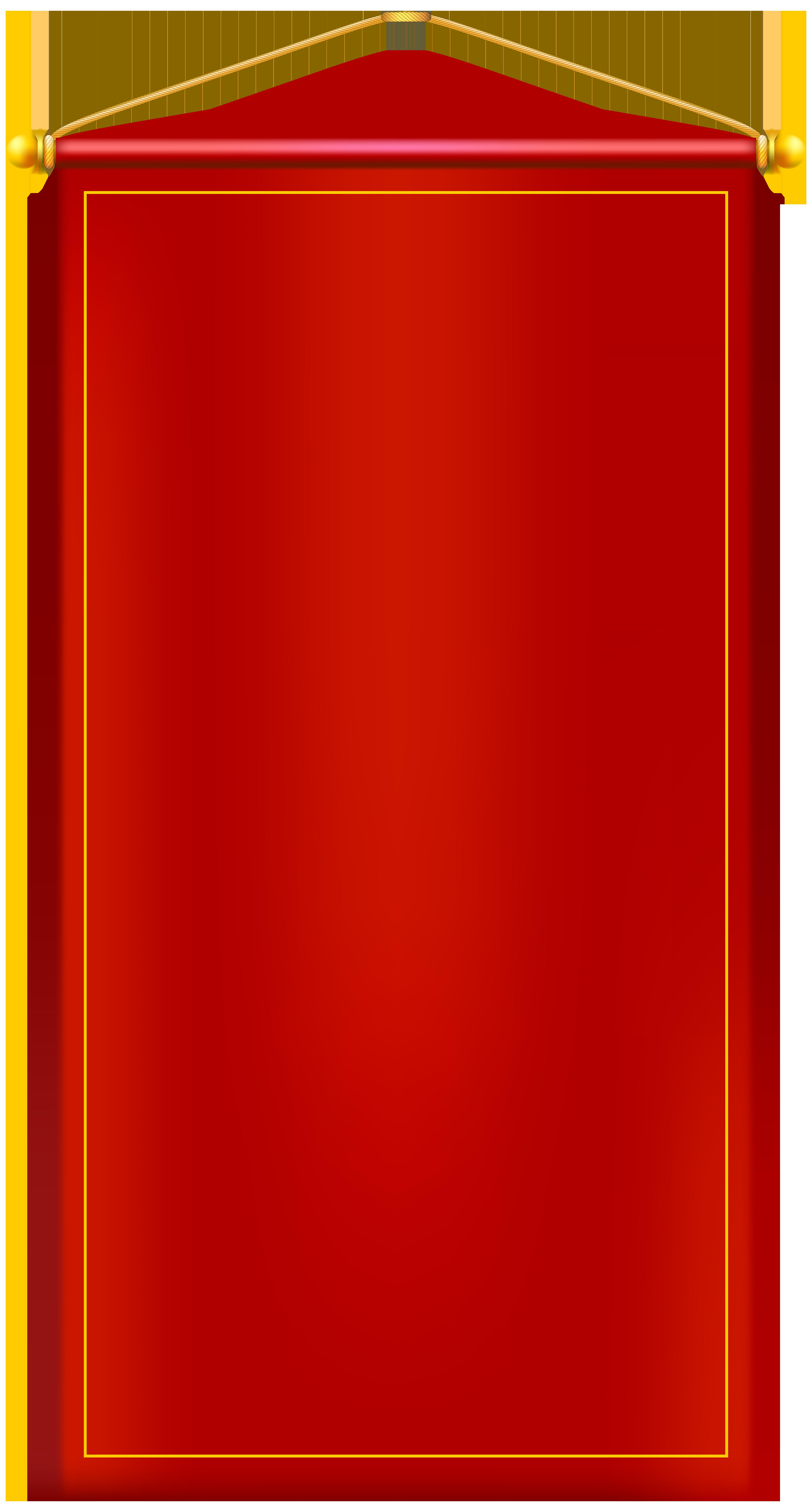 Door clipart rectangle. Vertical red banner png
