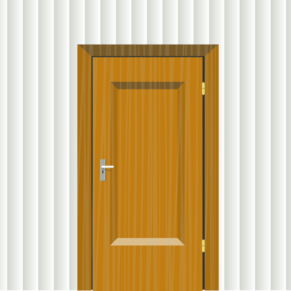 Clip art at clker. Clipart door room door
