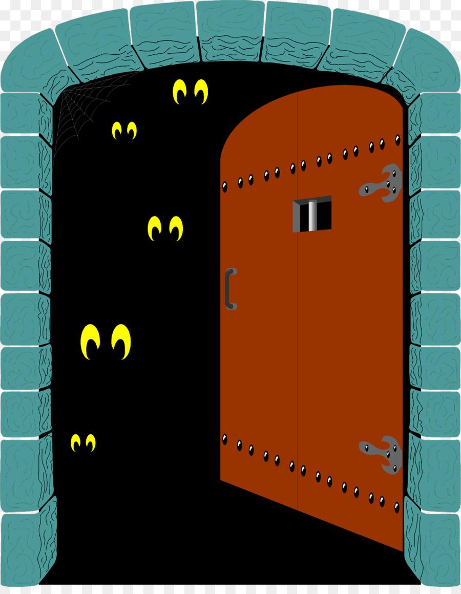 Clipart door spooky. Haunted house cartoon png